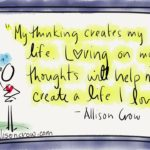 love on your thinking to create a life you love by allison crow