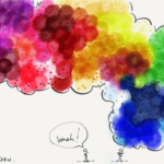 color brain card
